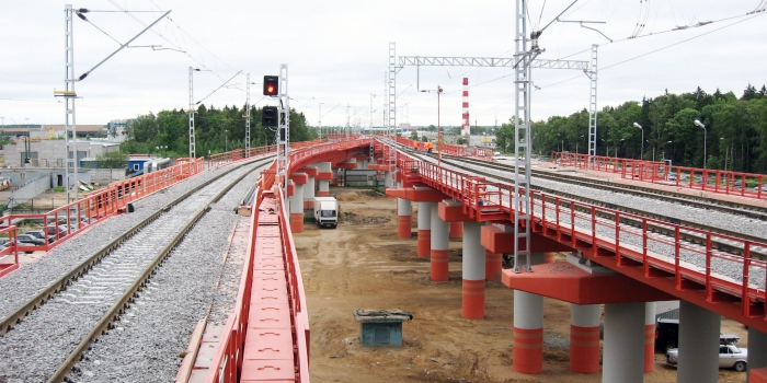 Project for the Construction of a Railway Line from Sheremetyevskaya Way Station to the Sheremetyevo-2 for Transportation of Air Passengers. Relocation of Utility Systems from the Footprint Area.