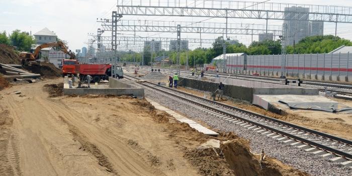 Пункт отстоя и экипировки электропоездов, пункт явки и отдыха локомотивных бригад на ст. «Лихоборы» МЦК