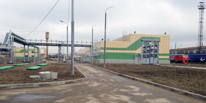 Complejo lavado en el depósito de locomotoras «Domodedovo»