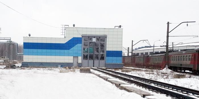 Complejo lavado  en el depósito de locomotoras «Aprelevka»