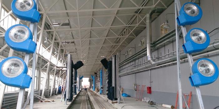 Complejo lavado en la estación Imeritinskiy kurort