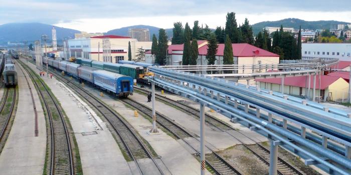Цех обслуживания и ремонта пассажирских вагонов