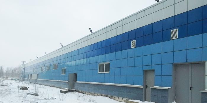 Моечный комплекс в моторвагонном депо «Апрелевка»