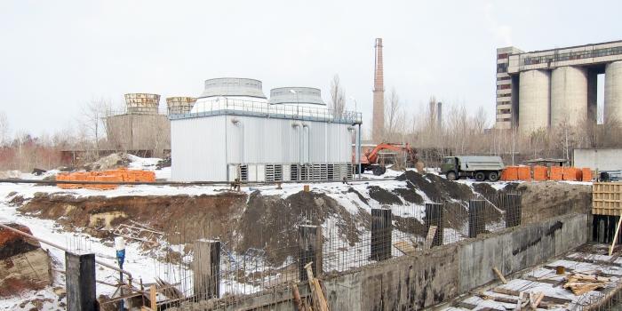 Градирни чистого цикла на Бежицком сталелитейном заводе